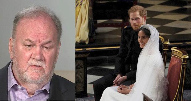66ab3b1d8f2 Otec vévodkyně Meghan dělá zase ostudu  Vyhrožoval Harrymu po telefonu