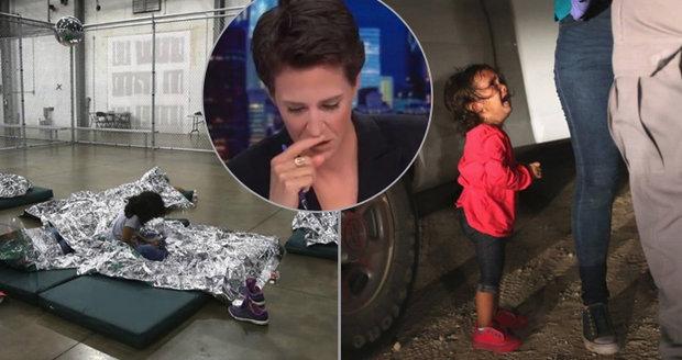 Moderátorka se rozplakala. Do klece v USA zavřeli i holčičku s Downovým syndromem