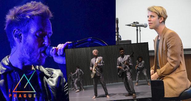 Massive Attack, Tom Odell i David Byrne rozezní Prahu. Začíná Metronome Festival