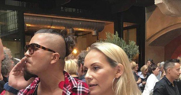Martina Gavriely na veřejnosti s přítelem