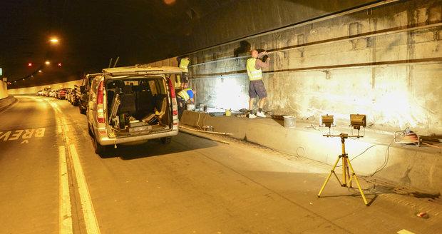 Ve Strahovském tunelu opět proběhne pravidelná údržba.