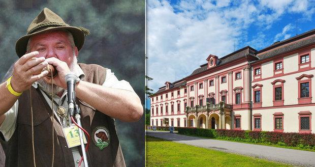 Lovecký zámek Ohrada se 23. června stane místem setkání českých myslivců a milovníků přírody.
