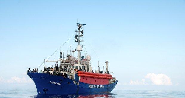 Malta stopla další humanitární loď. Chystala se převážet uprchlíky