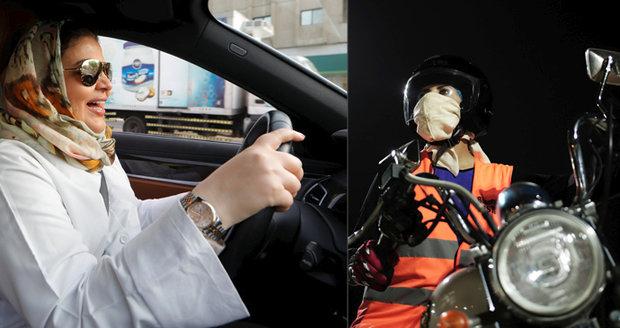 Ženy v Saúdské Arábii můžou začít řídit. Princ jim povolil auta, kamiony i motorky