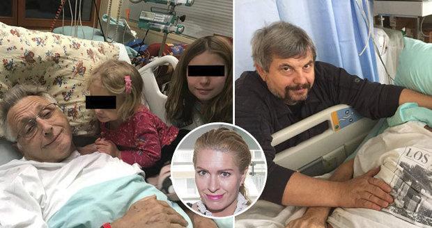 """Těžce nemocný Jiří Menzel (80): Žena volá o pomoc! Upíná se na """"magické ruce"""""""