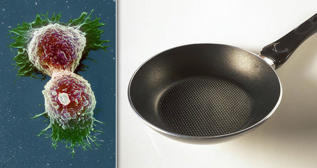 Rakovina z nepřilnavých pánví? Chemikálie z nich jdou do vody, varuje úřad