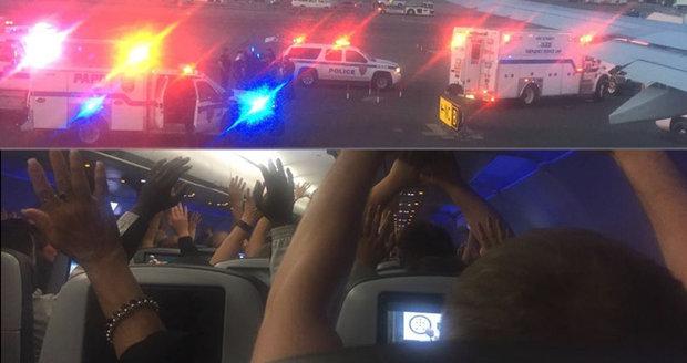 Do letadla vtrhla po přistání zásahovka kvůli únosu: Všechno bylo jinak