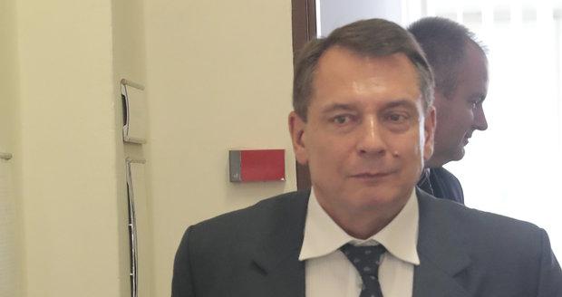 Jiří Paroubek u předchozího soudu
