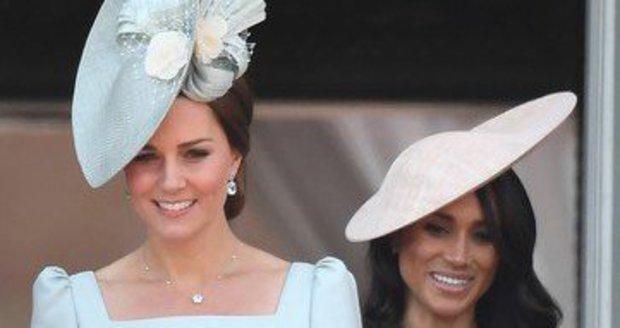 Vévodkyně Kate a vévodkyně Meghan.