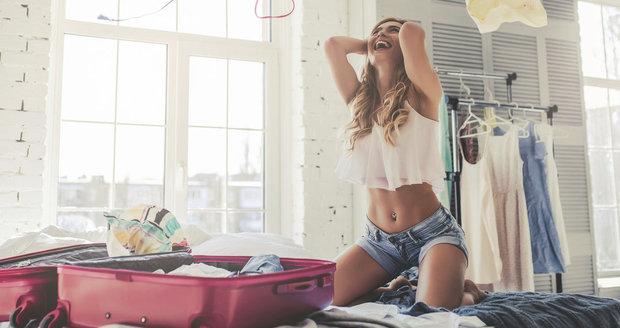 Sbalit se na dovolenou je někdy fuška.