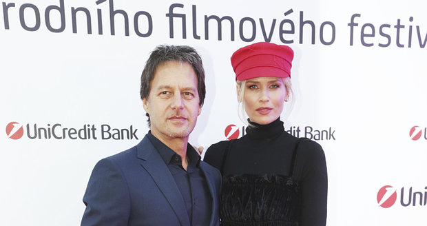 Palo Habera a Daniela Peštová