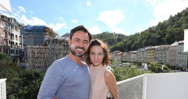 Veronika Arichteva s manželem a režisérem Biserem Arichtevem.