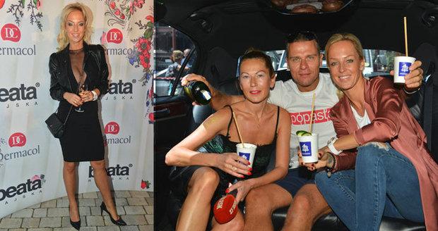 Zuzana Belehorcová s manželem v limuzíně Blesku: Od manžela dostala kabelku za 60 tisíc!