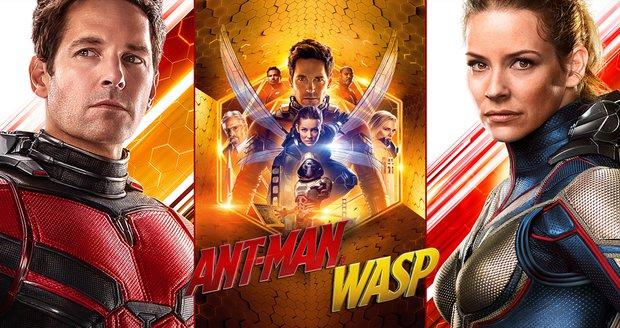 Ant-Man a Wasp: Mravenčí frajer a vosí kočka se dali dohromady, aby to natřeli padouchům