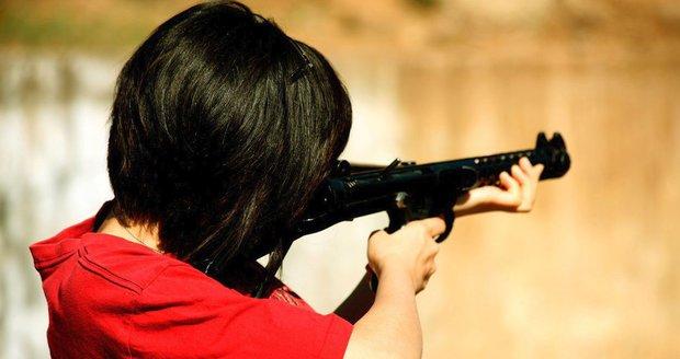 Žena a muž v Brně stříleli vzduchovkou jen tka pro zábavu. Ilustrační foto