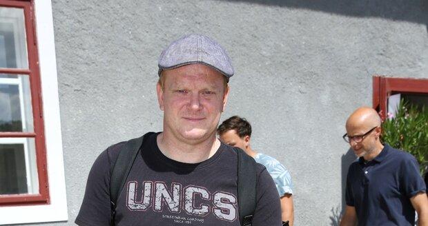 Herec David Novotný