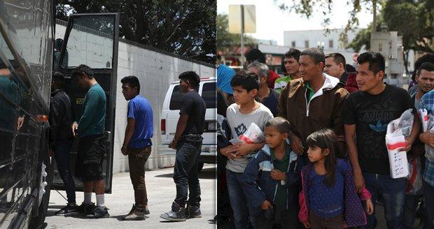 USA vrátily nejmenší děti migrantům, další stále zůstávají bez rodičů