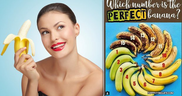 Banán zamotal hlavu uživatelům sociální sítě: Je lepší jíst banán ještě zelený, či hnědý?