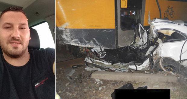 Taxikáře Mariána (†28) smetl RegioJet: Poslední slib matce nesplnil