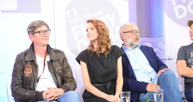 Jiří Strach s Denisou Nesvačilovou