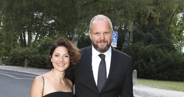 Martha Issová a David Ondříček
