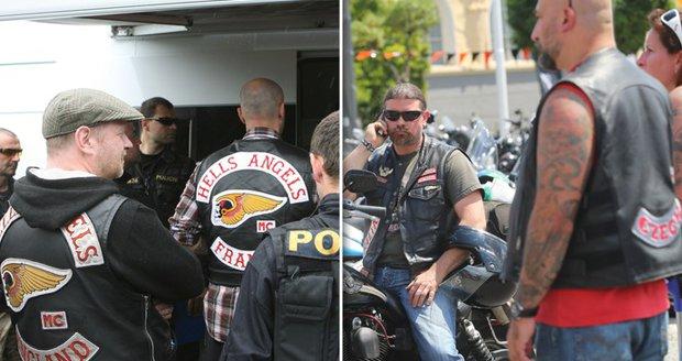 Motorkářských gangů se Pražané bát nemusejí.