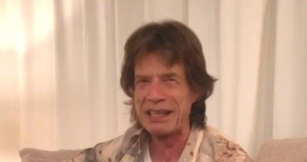 Pec nám spadla, pec nám spadla, kdopak nám ji opraví, notuje si Mick Jagger.