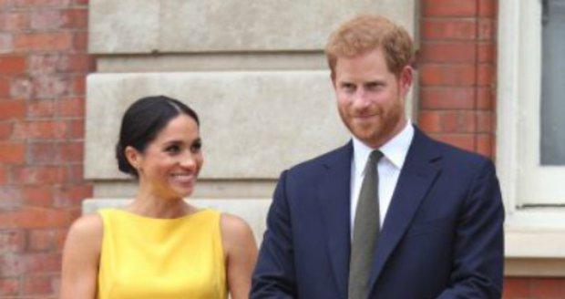 Princ Harry a vévodkyně Meghan.