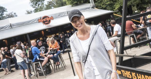 Helena Zeťová má ráda motorky.