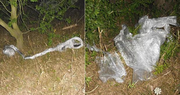 Vražedná past na cyklisty: Šílenec u Pardubic líčí folii přes cestu