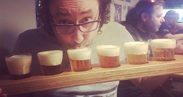 Marian Vojtko miluje pivo