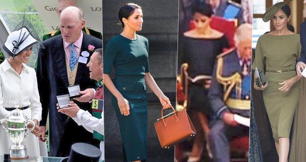 Vévodkyně Meghan a její trapasy