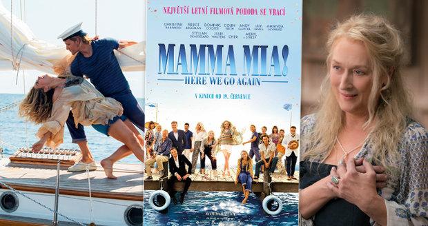 Mamma Mia! přichází podruhé a opět slibuje roztančenou letní podívanou