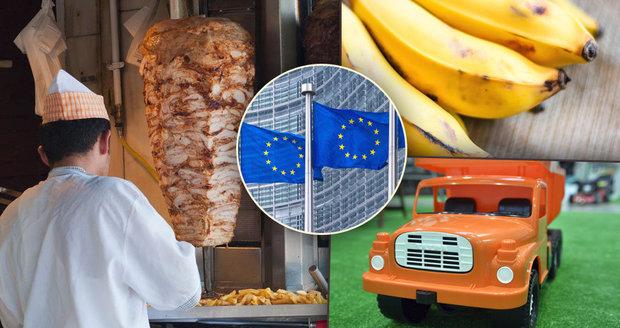 Zákaz kebabu, pojištění pro dětská autíčka: Co Brusel nařizuje a co je blábol?