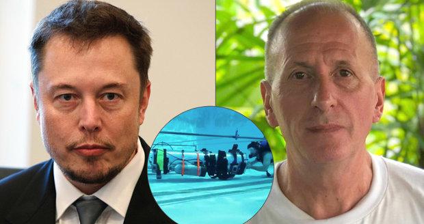 Miliardář Musk udělal z hrdiny z jeskyně pedofila. Dotkl se prý jeho chlouby