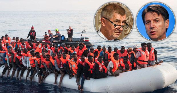 Babiš o sporu s Italy: Sejdeme se po dovolené a přesvědčím je. Migranty řešil i v Senátu