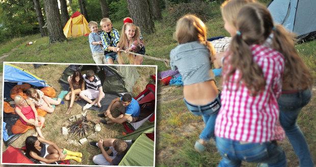 Pozor na úrazy na dětském táboře!