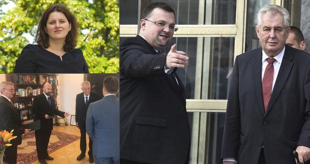 """""""Nerozumím tomu a ani nechci"""". Zemanovy lidi tepe Forejt za jmenování ministryně v Lánech"""