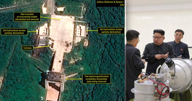 V KLDR našli tajné základny. Podvedl Kim Západ s demolicí raketového střediska?