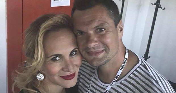 Monika Absolonová s Tomášem Hornou