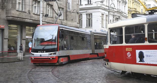 V nadcházejících letech by se v hlavním městě mělo zřídit minimálně 16 nových tramvajových tratí. (Ilustrační foto)
