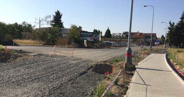 Na jihu Prahy v Písnici bude dočasně v platnosti další dopravní komplikace.