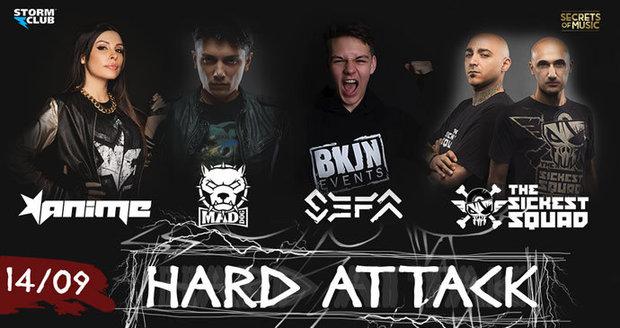 Hard Attack si žádá respekt: Vystoupí na něm Mad Dog, AniMe, Sefa a The Sickest Squad
