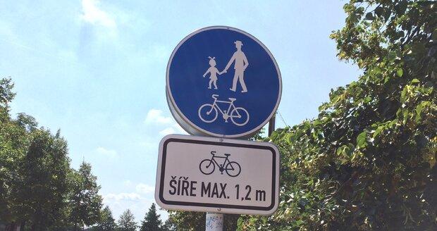 Nové omezení bude zakazovat vjezd kolům o šířce vyšší než 1,2 metru.