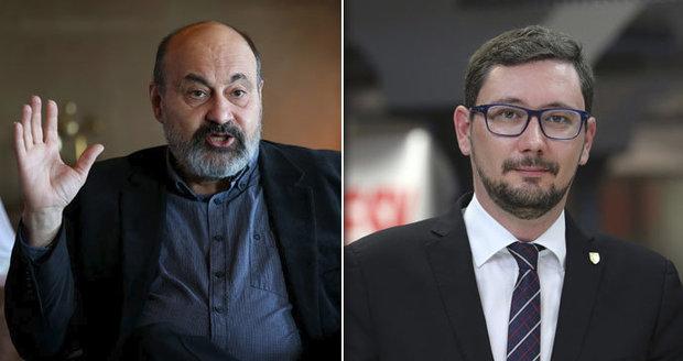 """Halík sepsul populisty i strašení uprchlíky. """"Zvoní mu telefon z pekla,"""" ucedil Ovčáček"""