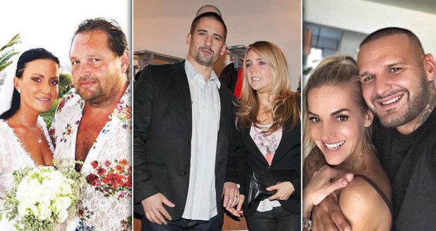 Slavné páry, které se po sedmi letech rozešly.