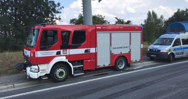 Nehoda na Strakonické ulici ochromila ve středu 8. srpna 2018 dopravu ve směru do centra.