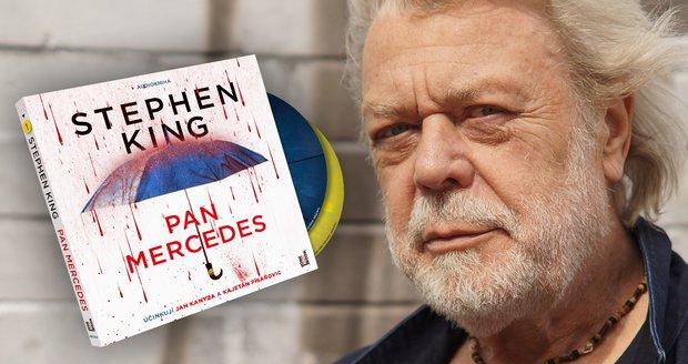Jan Kanyza a Kajetán Písařovic jsou Kingovu thrilleru Pan Mercedes masem a kostmi