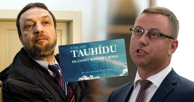 Čech vydal radikální islámskou knihu. Zproštění viny přezkoumá Nejvyšší soud