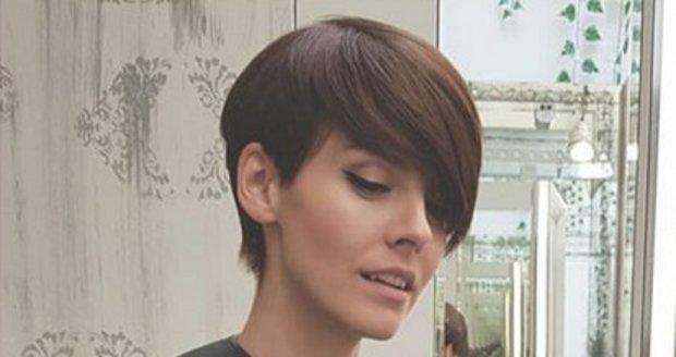Gábina Lašková opět s krátkými vlasy